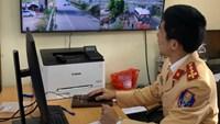 Phòng CSGT Công an tỉnh Bắc Giang: Thực hiện xử phạt vi phạm trật tự ATGT qua camera