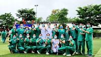 Quảng Ninh: Đoàn y bác sĩ lên đường hỗ trợ tỉnh Bắc Giang phòng, chống dịch Covid-19