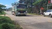 Đề nghị khắc phục tuyến đường xuống cấp do thi công dự án Cao tốc Cam Lộ - La Sơn