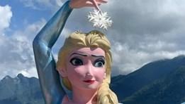 """Hiệp hội Du lịch Sapa lên tiếng về tượng """"nữ hoàng kỳ quặc Elsa"""" mọc giữa núi rừng"""