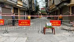 """Hà Nội dỡ phong tỏa 3 ổ dịch từng được coi là """"điểm nóng"""" của thành phố"""