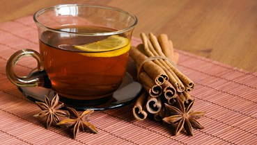 Giữ ấm cơ thể mùa đông bằng việc uống trà quế