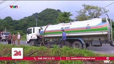 Rò rỉ đường ống, hàng nghìn lít xăng chảy ra môi trường