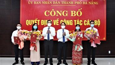 Đà Nẵng: Bổ nhiệm nhiều lãnh đạo cấp Sở