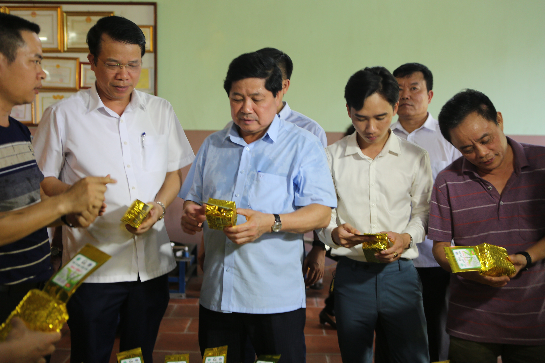 Thái Nguyên tập trung phát triển sản phẩm OCOP và đã có 24 sản phẩm OCOP từ chè
