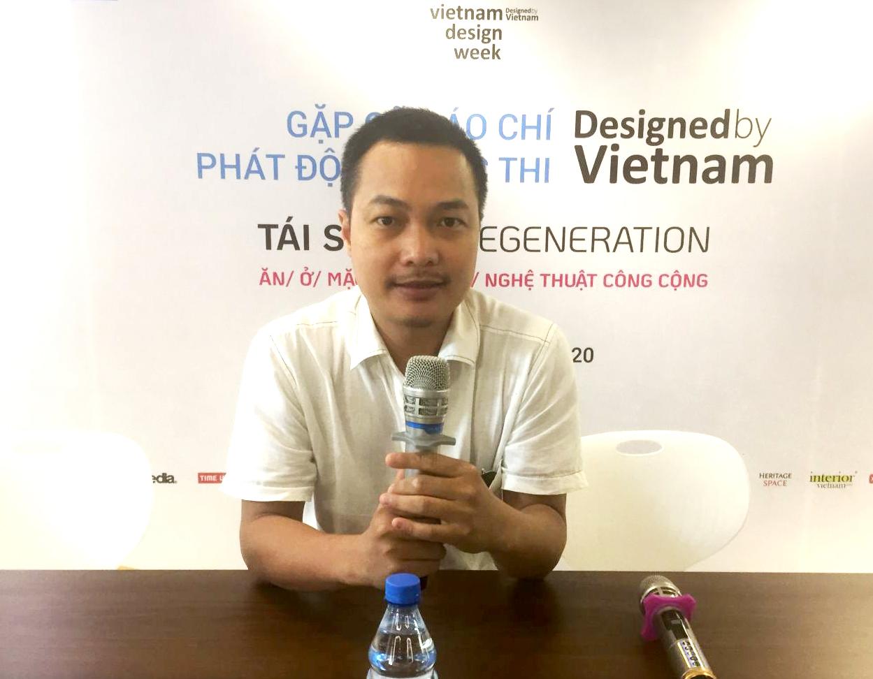 Ông Lê Việt Hà (Chủ tịch Ashui.com) phát biểu khai mạc sự kiện