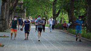 Hà Nội cho phép hoạt động tập thể dục, thể thao ngoài trời… từ ngày 28/9