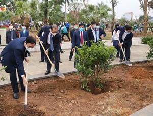 """Phú Thọ: Phát động """"Tết trồng cây đời đời nhớ ơn Bác Hồ"""" Xuân Tân Sửu 2021"""
