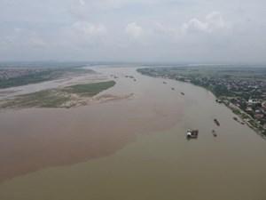 Phú Thọ: Tạm dừng hoạt động khai thác cát, sỏi trên tuyến sông Đà từ ngày 29/8