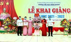Hải Phòng: Trường Tiểu học Hồng Phong (An Dương) hân hoan khai giảng năm học mới