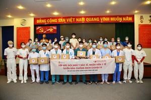 Tổng cục Du lịch Hàn Quốc tiếp sức lực lượng tuyến đầu chống dịch ở Việt Nam
