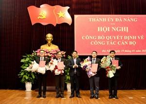 Đà Nẵng: Công bố quyết định phân công, điều động bổ nhiệm nhiều cán bộ chủ chốt
