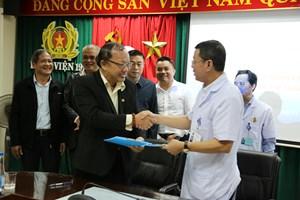 Bệnh viện 199 và Trung tâm huấn luyện thể thao Quốc gia Đà Nẵng ghi nhớ hợp tác