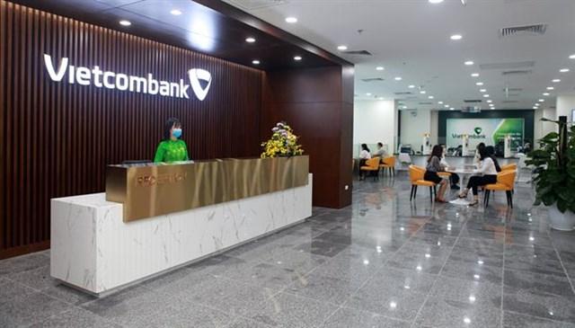Một điểm giao dịch của Vietcombank. (Ảnh:Vietcombank)