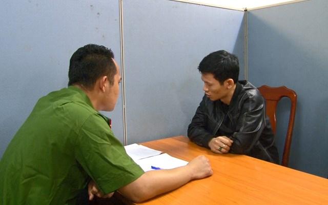 Công an làm việc với Nguyễn Xuân Quý