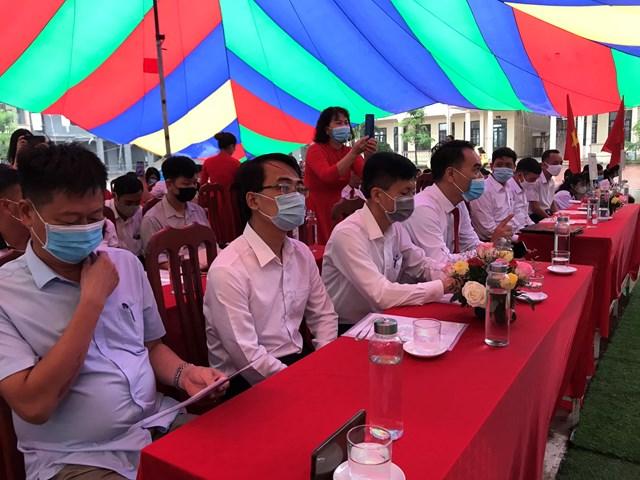 Lãnh đạo đại biểu tham dự
