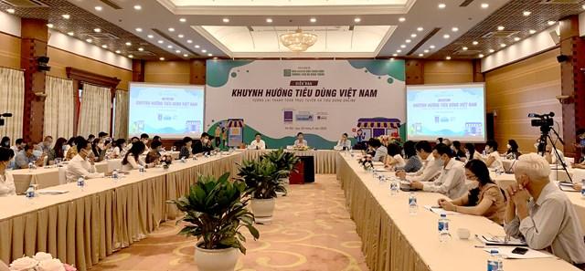 """Diễn đàn """"Khuynh hướng tiêu dùng Việt Nam: Tương lai thanh toán trực tuyến và tiêu dùng online"""""""