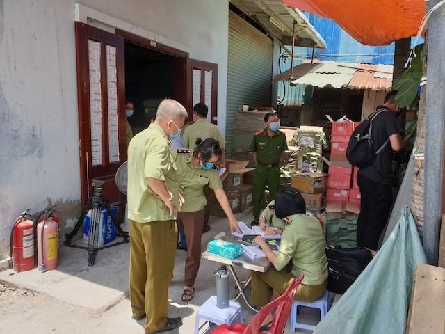 Cục QLTT tỉnh Đắk Lắk quyết liệt đấu tranh chống hàng gian, hàng giả, kiểm soát thị trường dịp tết Nguyên đán Tân Sửu 2021.