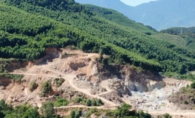 Thừa Thiên Huế: Khai thác khoáng sản trái phép, 2 doanh nghiệp bị phạt hơn 700 triệu đồng - Ảnh 1