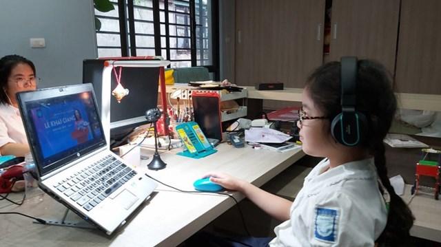 Đà Nẵng: Hơn 280.000 học sinh dự lễ khai giảng trực tuyến - Ảnh 2