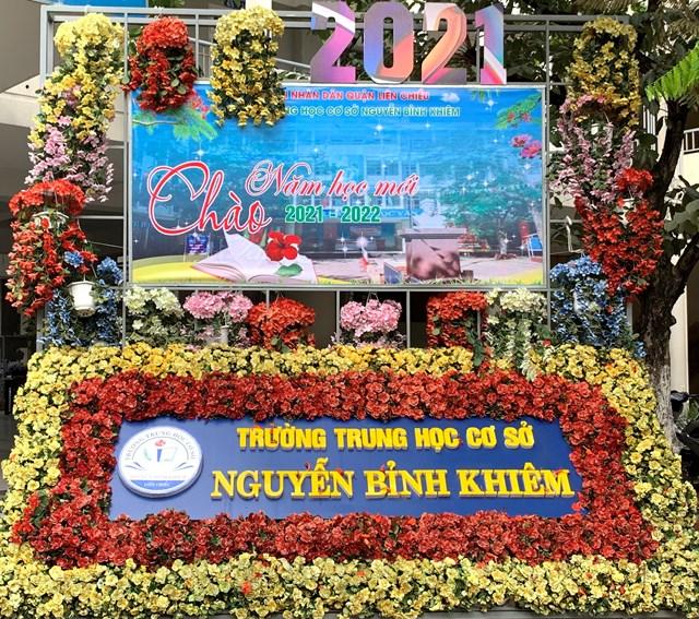 Chương trình chào năm mới của trường THCS Nguyễn Bỉnh Khiêm - Quận Liên Chiểu