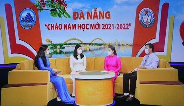 Chương trình tọa đàm Chào năm học mới trên Đài Phát thanh truyền hình Đà Nẵng