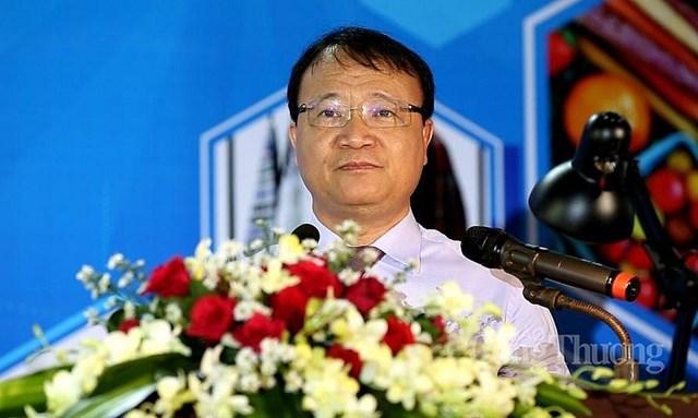 Thứ trưởng Bộ Công thương Đỗ Thắng Hải phát biểu khai mạc sự kiện (Ảnh: Báo Công thương)