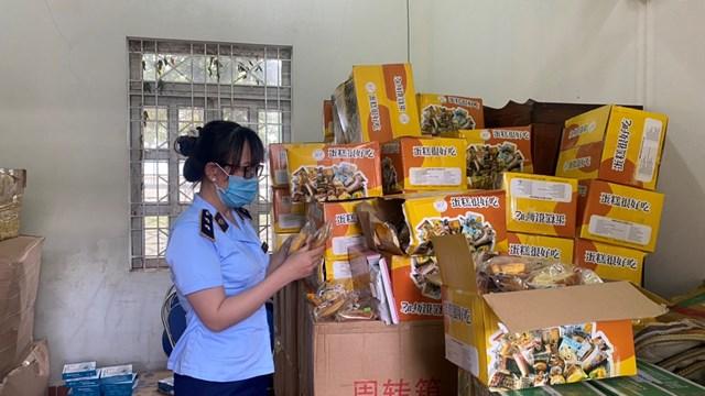 Gia Lai: Phát hiện 6.000 bánh trung thu không rõ nguồn gốc - Ảnh 1