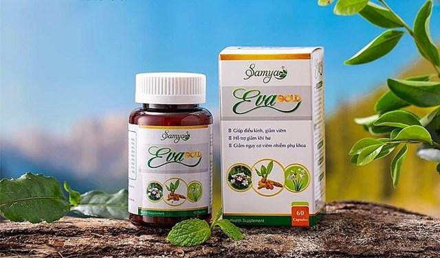 Sản phẩm thực phẩm bảo vệ sức khỏe Samya EvaGold - Ảnh minh họa