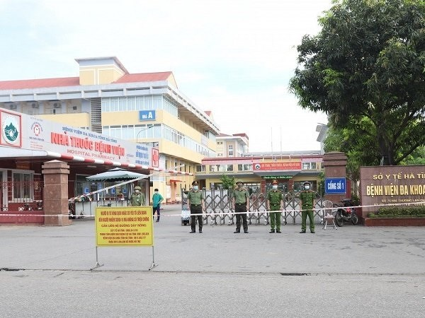 Bệnh viện ĐK Hà Tĩnh hoạt động trở lại sau một ngày tạm dừng hoạt động.